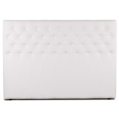 Sensation Sänggavel 180 cm - Vitt Eco läder