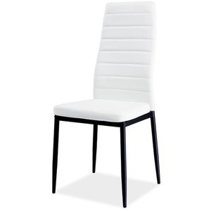 Kassidy stol - Vit/svart