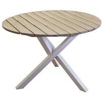 Scottsdale matbord runt 105 cm - Shabby Chic