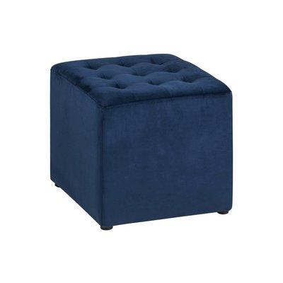 Plano sittpuff - Mörkblå