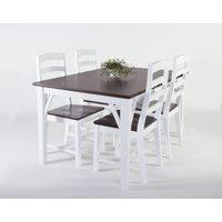 Lyon matgrupp - Bord inklusive 4 st stolar