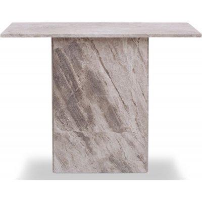 Kindbro konsolbord - Silvrig marmor