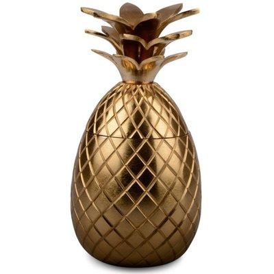 Dekoration Ananas i Guld