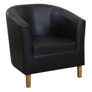 Batna loungefåtölj - Valfri klädsel (tyg   skinn )