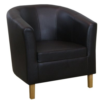 Batna loungefåtölj - Valfri klädsel (tyg | skinn )