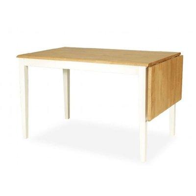 Nybro matbord - Ekbetsad/vit