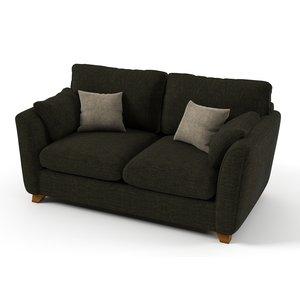 Soho Bäddsoffa 2-sits - Välj din favoritfärg!