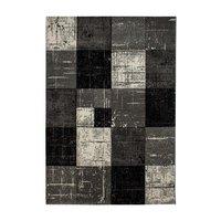 Maskinvävd matta Aversa - Svart - 60x90 cm