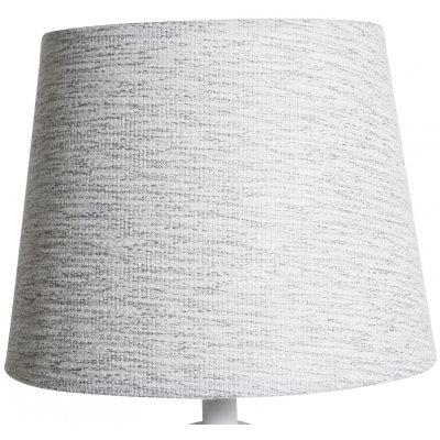 Rund lampskärm 22x28x22 cm - Ljust (grovt linne)