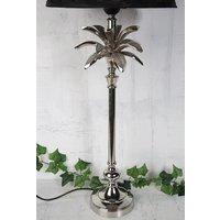 Palmblad Bordslampa 50cm - Silver