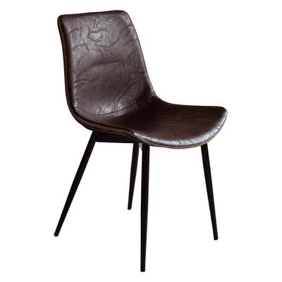 Madrid stol - Mörkbrun vintage