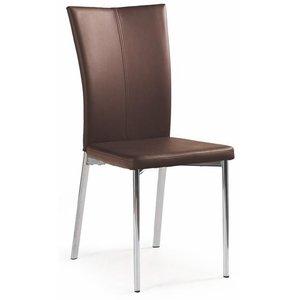 Graham stol - mörkbrun (PU)