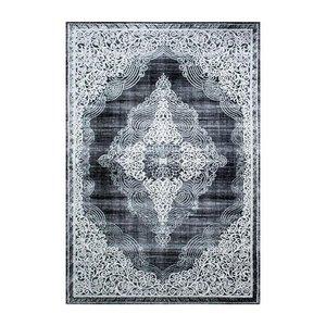 Maskinvävd matta Gry - Svart