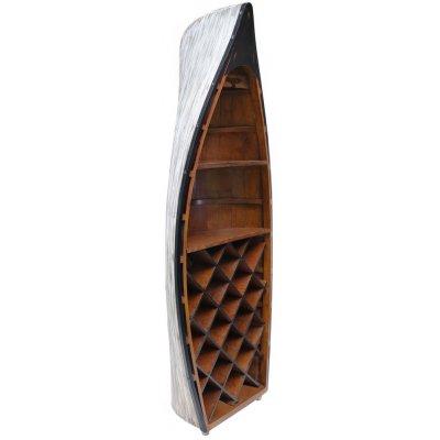 Marint vinställ av en Båt - Höjd 138 cm