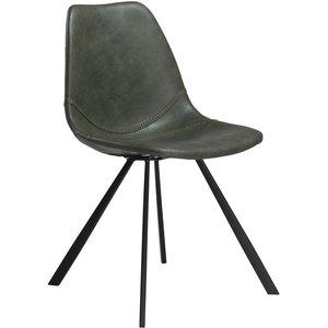 Pitch stol - Vintage grön / svart