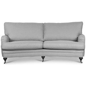 Howard London Premium 4-sits svängd soffa - Valfri färg!