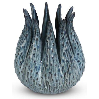 Kruka Dreja H16 cm - Blå