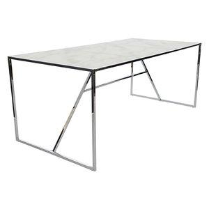 New York matbord 185 cm - Krom
