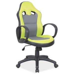 Lesly kontorsstol - Svart/grön