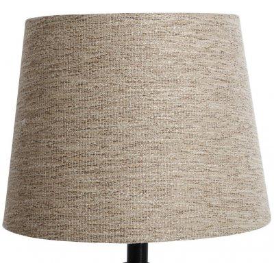 Rund lampskärm 22x28x22 cm - Natur (grovt linne)