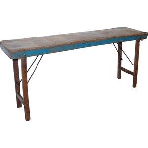 Abbeville avlastningsbord - Zink/trä