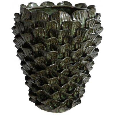 Vas Ester H29 cm - Grön