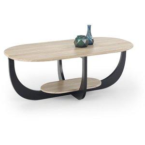 Dorothea soffbord - Ek/svart