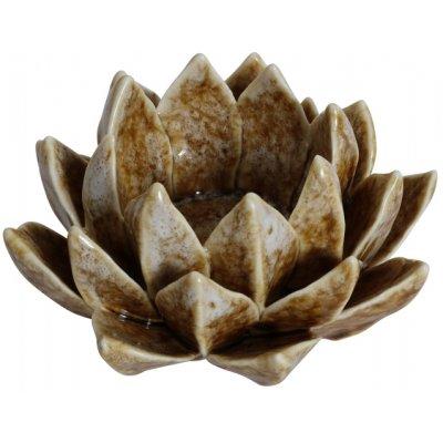 Ljushållare Nekros - Keramik (Ljusbrun)