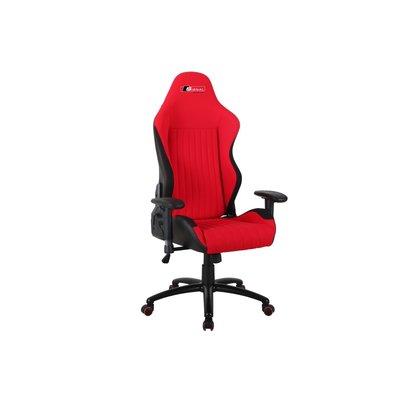 Blackwood kontorsstol - Svart/röd