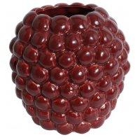 Vas Big Bouble H25 cm - Röd