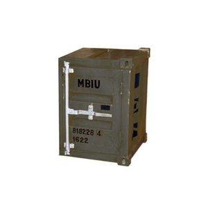 Förvaringsskåp container - Grå