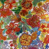 Tavla oljemålning - Flowers