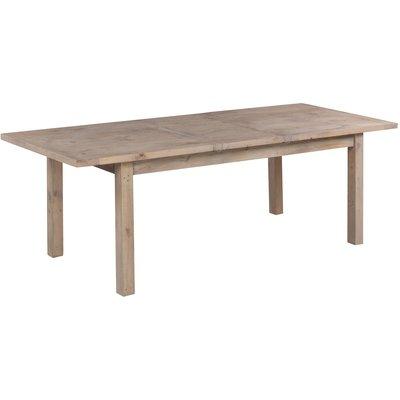 Canada matbord 180-230 cm - Gråbetsad furu