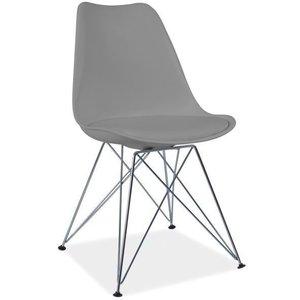 Cristina stol - Grå/krom