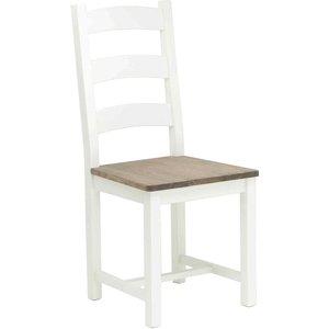 Grästorp stol - Vit/grå