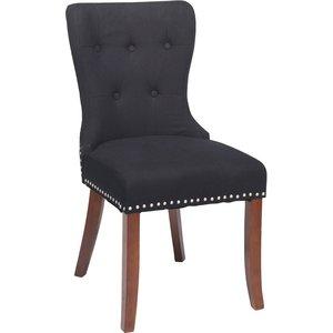 Sophia stol - Svart/brun
