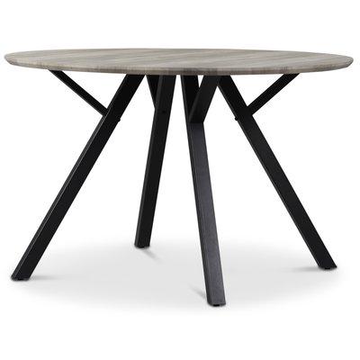 Smokey matbord 120 cm - Gråbetsad ek