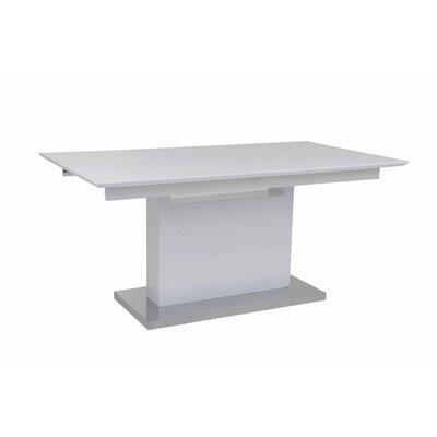Staffanstorp matbord - Vit högglans