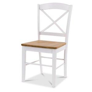 Merida stol med eksits - Vit / ek