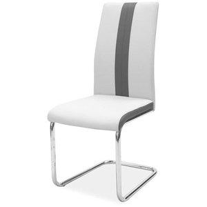 Elsie stol - Grå/krom
