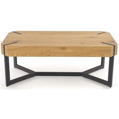 Alana soffbord - Ek/svart