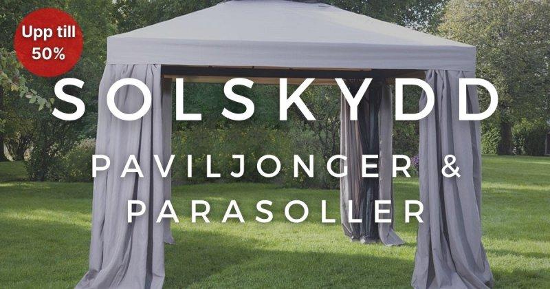 Solskydd - Upp till 50%