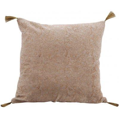 Celine kuddfodral 45x45 cm - Beige / Guld