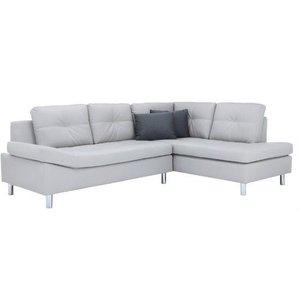 Horna L-soffa divan vänster - Grå thumbnail