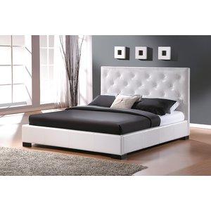 Säng Somersworth färg vit - 160 cm