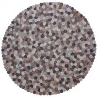 Handgjord matta - Woodstock - Ull filt