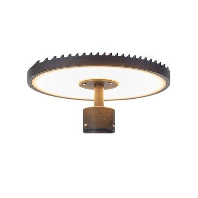 Plate Lamphuvud - Svart