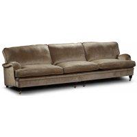 Howard Luxor rak soffa XL 300 cm - Valfri färg och tyg