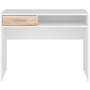 Norbo skrivbord - Vit/ek