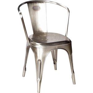 Vetlanda stol - Blänkande metall